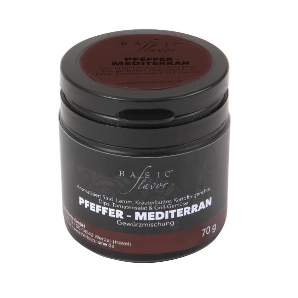 BASIC flavor Pfeffer - Mediterran